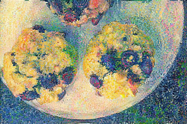 AI painting of cookies