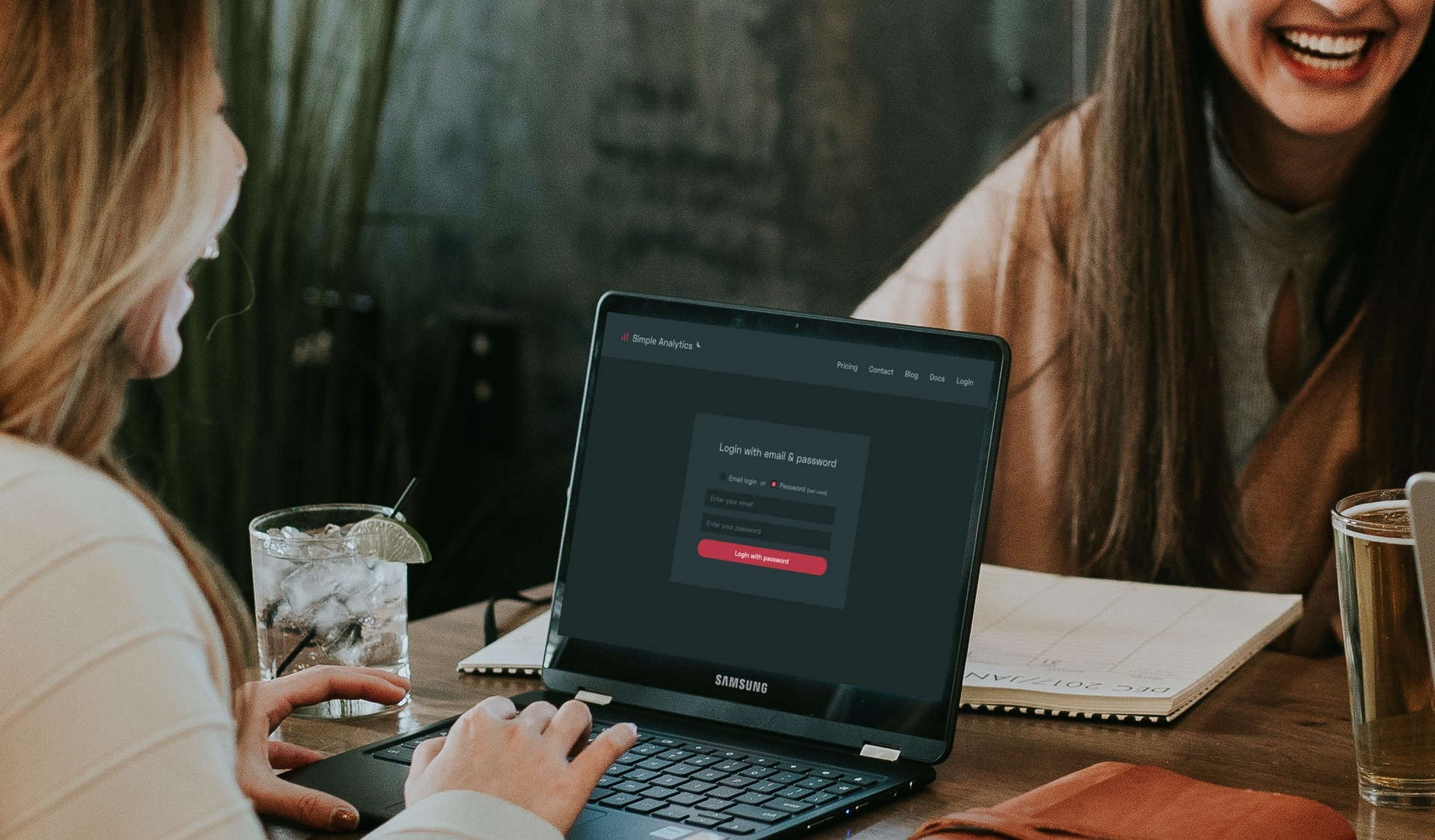 Open Startup Samsung Laptop